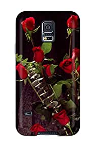 Hot Fashion Protective Bunch Of Red Roses Case Cover For Galaxy note4