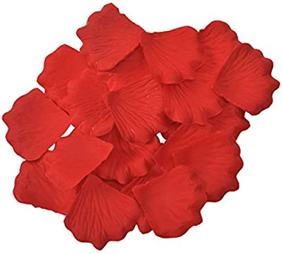 1000 Pcs Silk Artificial Rose Petals Wedding Party Decorations