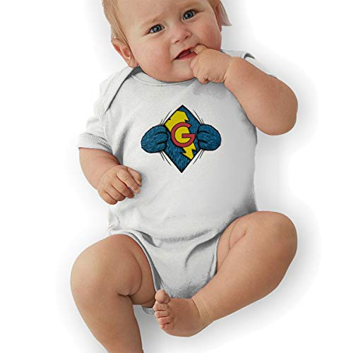 Lolpdd I´m Super Grover Baby Suits Body Suits White]()