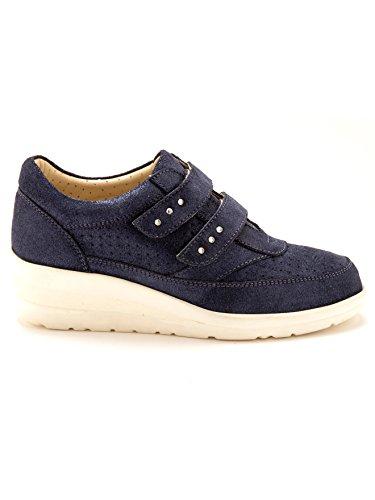de Cordones Zapatos Mujer Otra Pediconfort azul de marino Piel qatgT