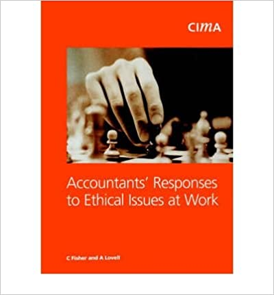 Book Accountants' Response to Ethical Issues as Work (CIMA Research)- Common