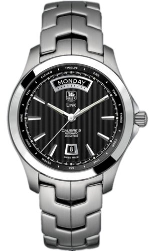 (TAG Heuer Men's WJF2010.BA0592 Link Automatic Day-Date)