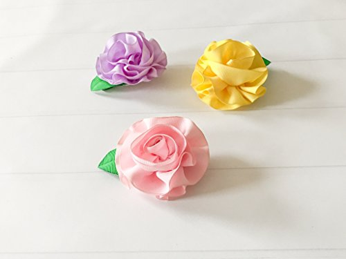 Adhesive Felt Ribbons - Ribbon Floral Hair Clip