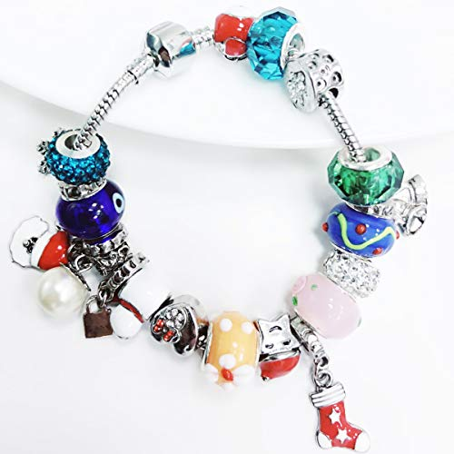 Mouttop Advent Calendar Made With Pandora Diy Beads Charms Bracelet