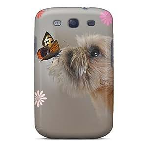 New Ikorus Spring Kiss Case Cover, Anti-scratch VUMzh1758xkWrm Phone Case For Galaxy S3