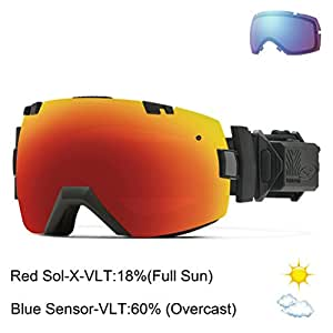 Smith I Ox Elite Turbo Fan Snow Goggle Black Frame With