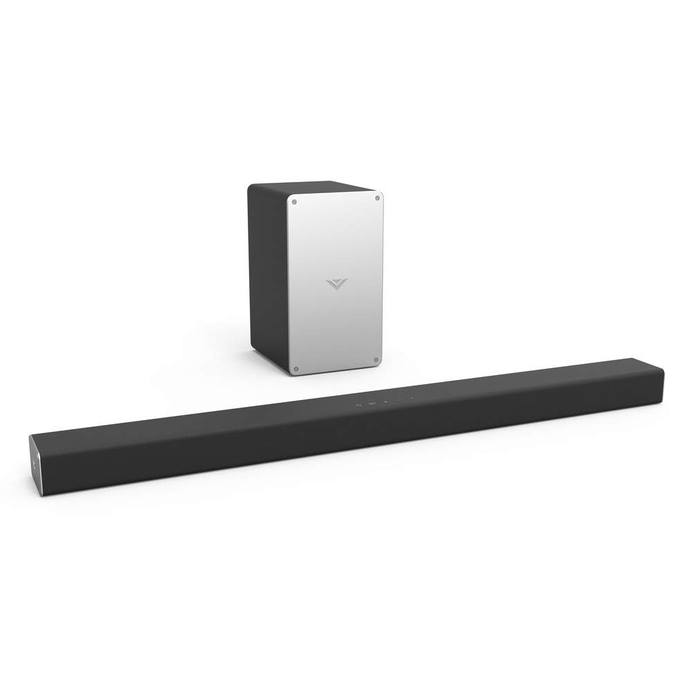 """VIZIO SB3621n-E8B 36"""" 2.1 Channel Home Theater Surround Sound Bar with Bluetooth – Wireless Subwoofer, Digital Coaxial, Optical, Remote (Renewed)"""