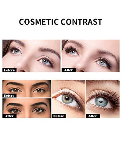 4D Silk Fiber Lash Mascara Waterproof, Makeup Sensational Natural Thick and Dramatic Extension Eyelash Mascara, Very Black
