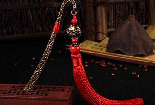 Bello e alla moda Segnalibro in metallo vintage per gli studenti che leggono i regali