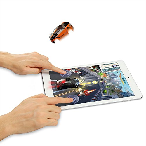 [SainSmart Jr. 3D Pocket-sized Racing Car for Tablet, Smart Interactive Virtual Game for iPad, Android Tablet, with Shining, Vibration, Jumping] (Blue Blimp Costume)