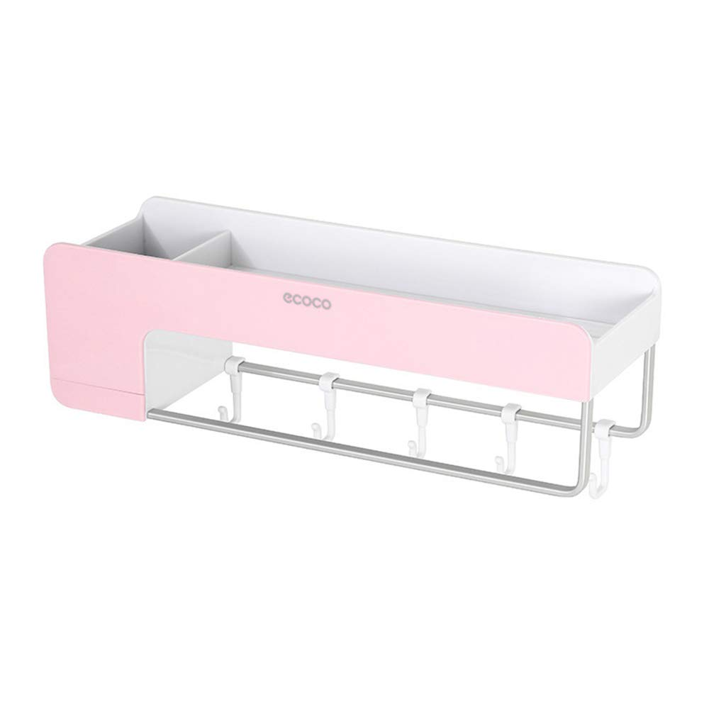 Godagoda Multi-Function Bathroom Racks Nail-Free Simple Multi-Purpose Storage Finishing Shelves