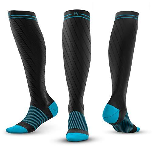 PowerLix Compression Socks for Men & Women – 20-30 mmHg Medical Stockings Support Circulation, Recovery – Best Graduated Athletic Socks for Nursing, Pregnancy, Shin Splints, Varicose Veins, Runnin