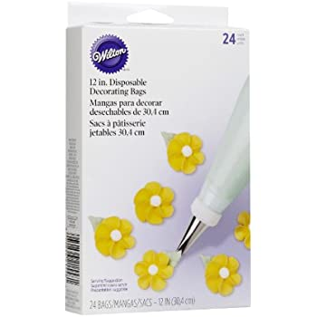 Wilton 2104-1358 Disposable 12-inch Decorating Bags, 24/ Pack