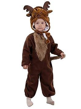 DISBACANAL Disfraz Reno bebé - Único, 36 Meses: Amazon.es ...