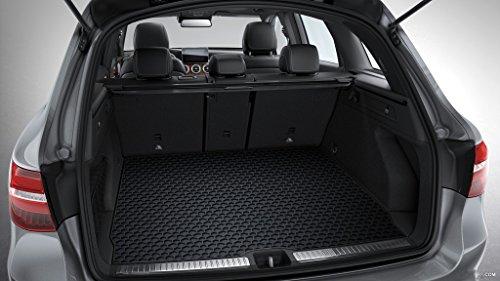 ToughPRO Mercedes-Benz GLC Class Cargo Mat – All Weather – Heavy Duty – Black Rubber – (2016-2017)