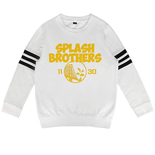 (SGFVDFVZD White Boys Girls Cotton Children's Sweatshirts Clothes Nice Printed Basketball Sports )