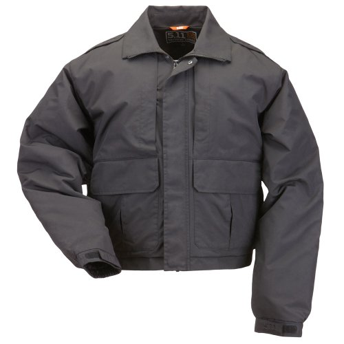 5.11 Tactical #48096 Double Duty Jacket (Black, X-Large) by 5.11