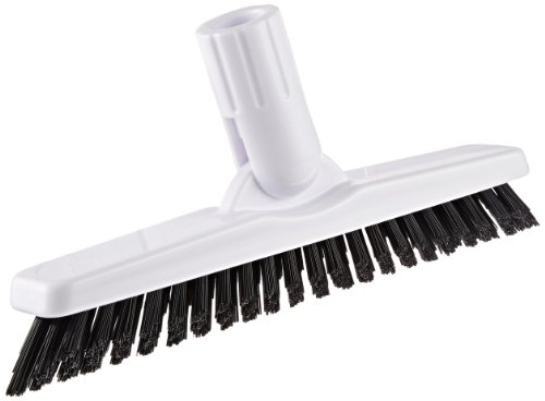 Impact 224 Tile and Grout Scrub Brush, 9'' Width, White/Black (Case of 12) by Impact Products