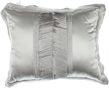 Martha Stewart Serenade Silk Waves Lavender 16 x 20 Decorative Pillow