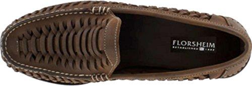 Florsheim Mens Berkley Leather Square Toe Penny Loafer, Brown, Size 7.0 - Florsheim Berkley Penny Loafer