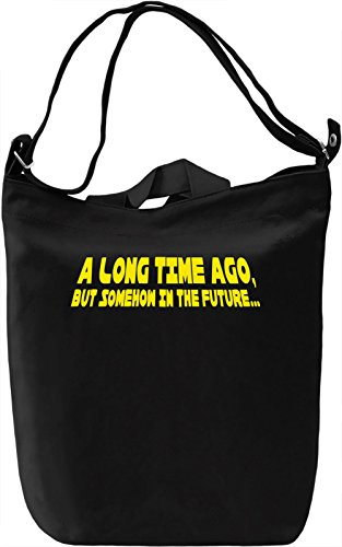 Long Time Ago In The Future Borsa Giornaliera Canvas Canvas Day Bag| 100% Premium Cotton Canvas| DTG Printing|