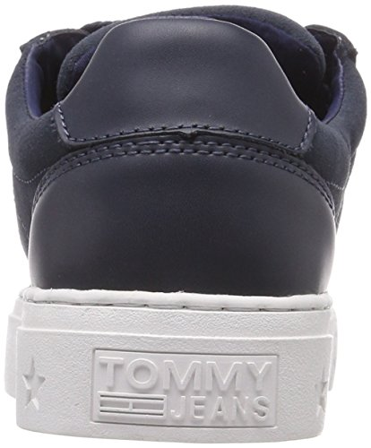 Bleu Ink 006 Ankle Lace Tommy Basses Femme Jeans Sneakers Sneaker g878TxZ