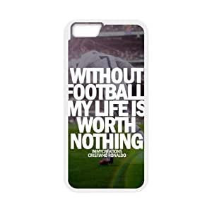 iphone6 4.7 inch case(TPU), soccer Cell phone case White for iphone6 4.7 inch - HHKL3333672