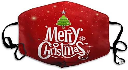 SIOPEW Damen Herren Einweg Weihnachts-Druck 3Lage Mundschutz Elastische Schnur Staubdicht Atmungsaktiver 50 St/üCk Perfekten Sitz Sturmhauben