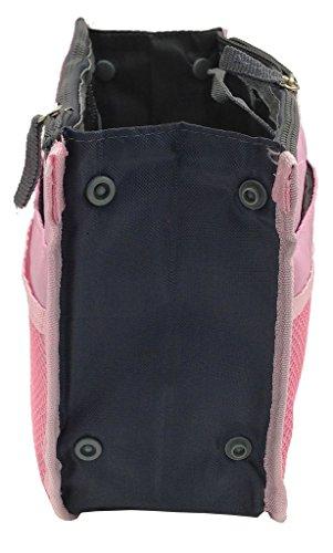 grandey - Bolso mochila  para mujer naranja large rosa