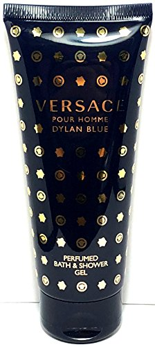 Versace Dylan Blue Pour Homme Perfumed Bath & Shower Gel 3.4 Oz / 100 ml New Item No Box