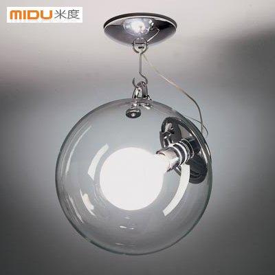 SSBY Einfache runden Glas Pendelleuchte moderne nordischen Landhausstil wohnzimmer schlafzimmer Lampen und Balkon restaurant bar Kunst Creative Lighting bubble Deckenleuchte , Durchmesser 30cm