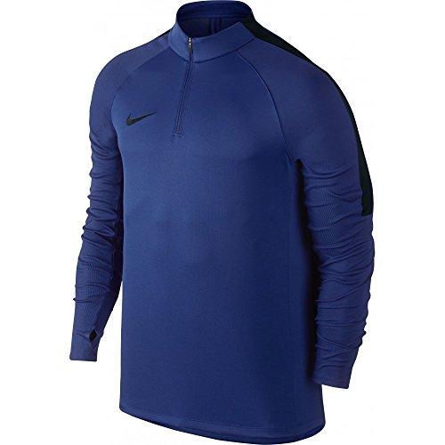 Black Manches Shirt à coutil Blue Top sQD Azul Deep Black Longues Nike Homme Royal NK OqpWY