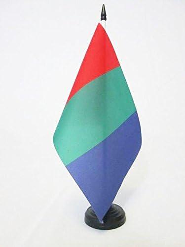 AZ FLAG Bandera de Mesa del Planeta Marte 21x14cm - BANDERINA de ...