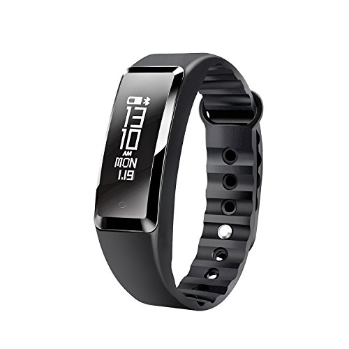 Fitness Tracker, Beasyjoy Smart Band Wristband Bracelet with Heart Rate Monitor IP67 Waterproof Pedometer, Sport Walking Step Counter Activity Tracker for IPhone and Android Phone