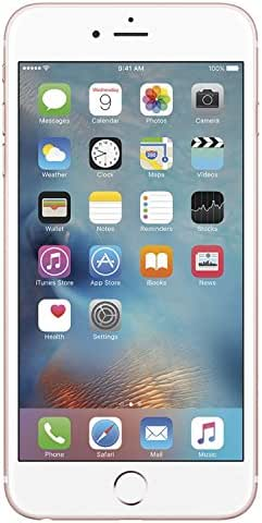 Apple iPhone 6S, 64GB, Rose Gold - For AT&T (Renewed)