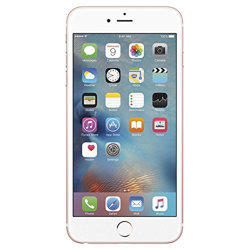 Apple iPhone 6S, Fully Unlocked, 16GB - Rose Gold (Renewed)