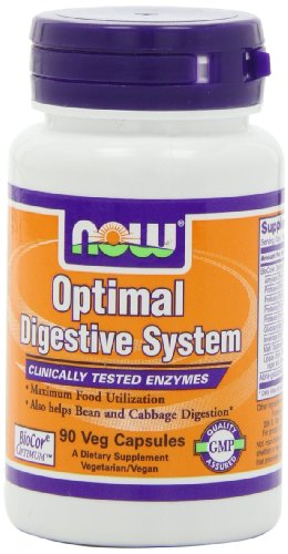 NOW Foods Optimal système digestif, 90 Vcaps