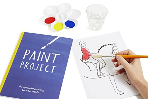 Active Minds Paint Project Painting Book Specialist Dementia/Alzheimer's Products & Art Activity - Great for Relaxation & Appropriate for All Ages -