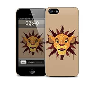 abstract simba iPhone 5 / 5S protective case