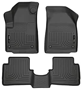 Husky Liners 99021 Weatherbeater Black Front And 2nd Seat