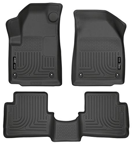 Husky Liners Front & 2nd Seat Floor Liners Fits 13-16 Dart ()