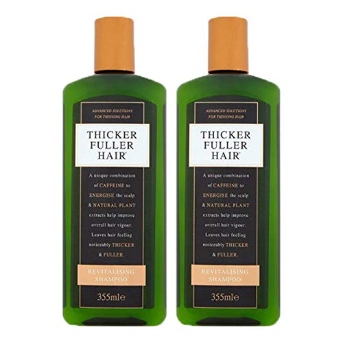 Thicker Fuller Hair Shampoo Revitalize 12oz. (2 Pack) (Thicker Fuller Hair Revitalizing Shampoo)