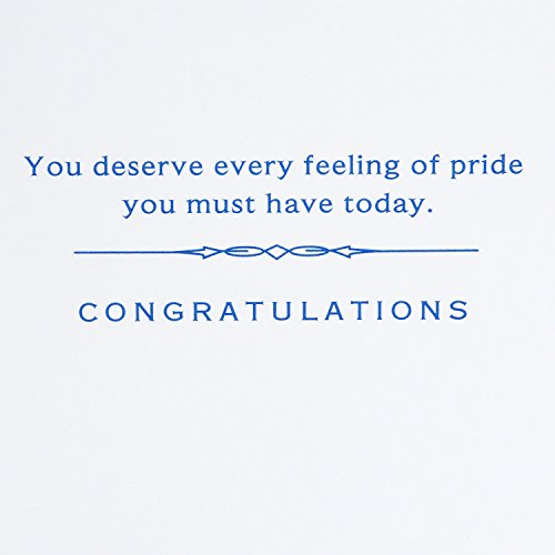 Hallmark Graduation Card (Feeling of Pride)