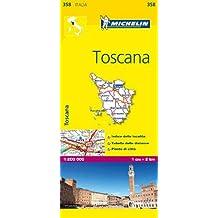 Toscana/Tuscany Map MH358 1:200,000