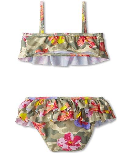 Kate Mack Baby Girl's Camo Flower Swim Bikini Baby (Infant) Multi Swimsuit Set 24 Months