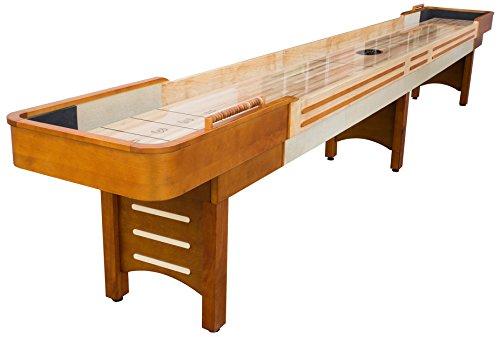 9' Honey (Playcraft Coventry Shuffleboard Table, Honey, 9-Feet)