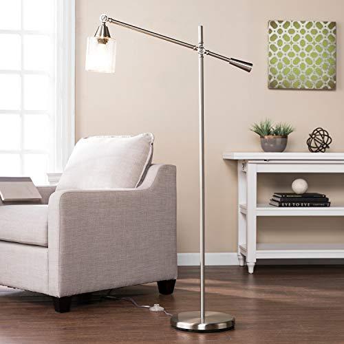 Harper Blvd Twyla Brushed Nickel Floor Lamp (Steel Nickel Floor Plated Brushed)