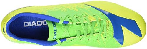 Diadora Dd-na4 R Lpu, Botas de Fútbol para Hombre Giallo (Giallo Fluo/Verde Fluo)