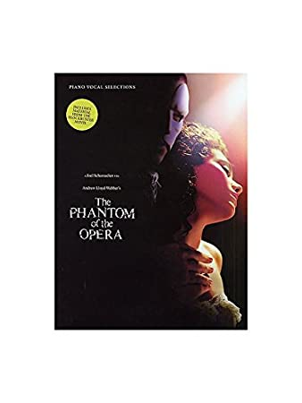 The Phantom Of The Opera Film Soundtrack Vocal Selections Sheet