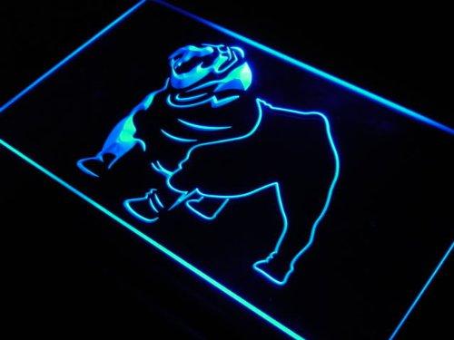 (ADV PRO j547-b Bull Dog Breeder Bar Beer Shop Neon Light)